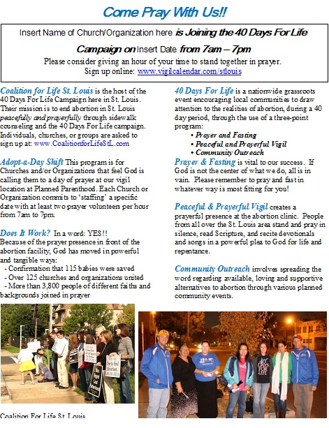 bulletin flyer fall 2013